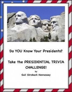 With the Presidential Election coming, this would be a great activity ...