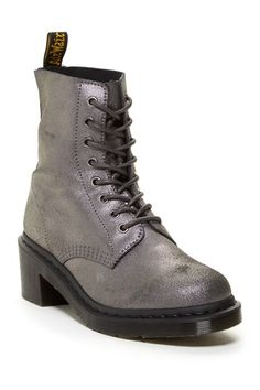 Clemency Chunky Heel Combat Boot by Dr. Martens on @HauteLook
