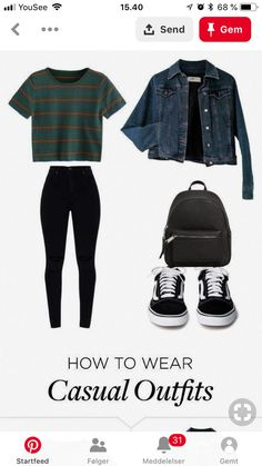 Black Vans, Casual Wear, Trendy Outfits, Jeans, How To Wear, Clothes, Outfit Ideas, Ootd, Style