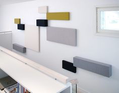 Whisper Acoustic Panels, Tapio Anttila, Accessories - Manhattan - Suite New York Acoustic Wall Panels, Room Acoustics, Band Rooms, Wall Panel Design, Home Theater Rooms, Home Office Decor, Home Decor, Cool Diy Projects, Contemporary Furniture