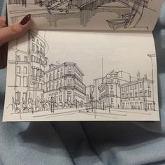 Adelina Gareeva is a student from Kazan (KSUAE) and her freehand architectural sketches are really amazing. Looking at her drawings we can see the amount of perfect one-dot or perspective cl… City Drawing, Drawing Sketches, Art Drawings, Architecture Drawing Sketchbooks, Architecture Art, Perspective Art, Detailed Drawings, Urban Sketching, Art Sketchbook