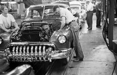 Buick on the assembly line