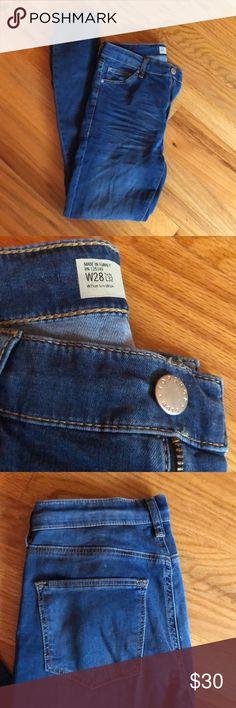 Topshop Moto Jeans Leigh Topshop Moto Jeans Leigh Style. Worn twice. Topshop Jeans Skinny
