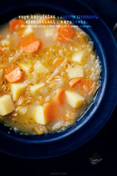 Veg Recipes, Kitchen Recipes, Cooking Recipes, Polish Soup, Eastern European Recipes, Vegetarian Cabbage, Polish Recipes, Russian Recipes, I Love Food