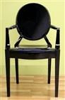 Black Acrylic Chairs