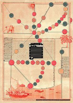 Map Art / by iranian graphic designer homa delvaray