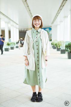 大學生街拍上學穿搭浸會大學hokk fabrica香港線上雜誌