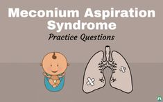 Looking for Meconium Aspiration Syndrome practice questions? This study guide can teach you everything you need to know for Respiratory Therapy School. Pediatric Nursing, Nicu Nursing, Becoming A Nurse, Respiratory Therapy, Simple Life Hacks, Pediatrics, How To Become, Medicine, Study