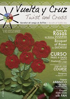 Vuelta y Cruz Nº11: Revista de bolillos / Twist and Cross N.11: Bobbin lace magazine (11€)