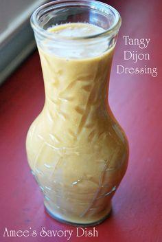 Tangy Dijon Dressing...jazz up your salads!