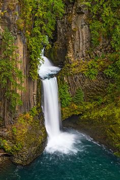 Toketee Falls, Landscape