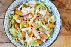 Healthy Salad Recipes, Healthy Foods To Eat, Healthy Eating, Lunch Restaurants, Avocado, Fennel Salad, Vegetable Salad, Good Food, Dinner Recipes