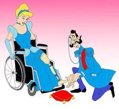 Princesas da Disney desenhadas com Deficiência? - PcD On-Line