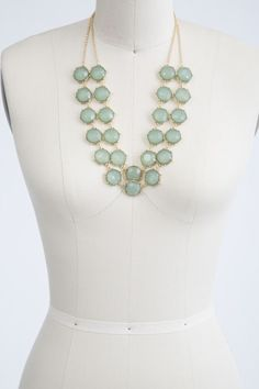 Nice necklace - but I have one similar in this color. Maybe in a coral?