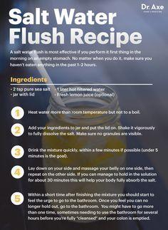Benefits of a Salt Water Flush, Plus a Homemade Recipe - Dr. Axe