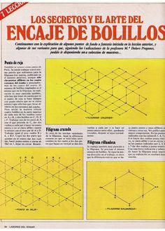 Aprender Encaje de Bolillos para principiantes – Virginia Ahumada – Webová alba Picasa