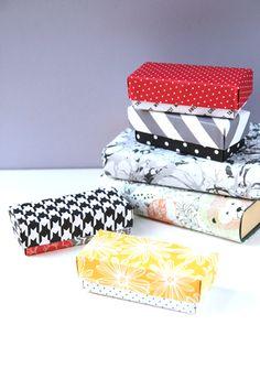 DIY RECTANGULAR ORIGAMI GIFT BOXES.
