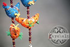 'The soul has illusions as the bird has wings: it is supported by them' - Victor Hugo. Strings of five birds, aesthetically appealing, and well-crafted, each used for decorative purposes. Bird Ladi is a beautiful home décor item available for sale with Kayakalp. Kayakalp is delhi based organization producing high quality puppets and related merchandize. We also perform puppet shows and conduct workshops on making puppets. To buy puppet or to book shows, please contact: 9910998514…