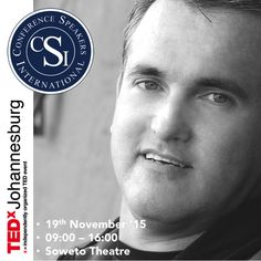 We are delighted to announce that Professional Speaker Martin Brown has been invited by TEDx to speak at their TEDxJohannesburg 2015 conference; taking place on Thursday 19 November from 9:00am to 4pm at Soweto Theatre, in Soweto.   The theme for TEDxJohannesburg 2015 is Moonshots: Human progress is the story of one step, followed by another. Some steps small and personal. Some big and audacious. We thrive on both. Courage and tenacity turn our impossibles on their heads.