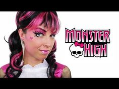 Draculaura - Monster High Makeup Tutorial - YouTube