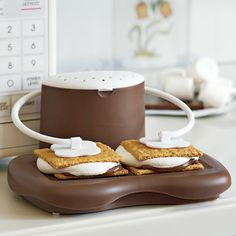 S'mores Maker from Solution.com! The boys would love this