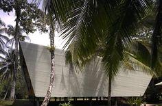 El techo es un  elemento arquitectónico clave en ambiente tropical