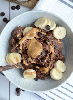 Brownie Batter Overnight Protein Oats - Vegan