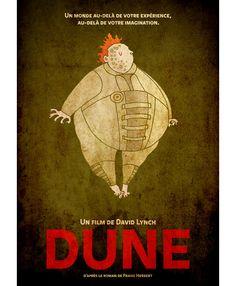 Alternative movie poster for Dune by Matthew Griffin