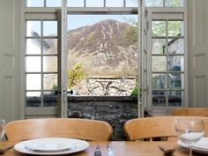 Enjoy stunning Lakeland views from the dining table