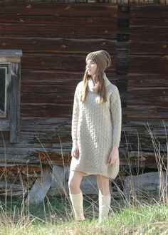 Naisen neulemekko Novita Suomivilla | Novita knits