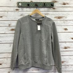 NWT Topshop top Super soft made from sweatshirt material! Topshop Tops