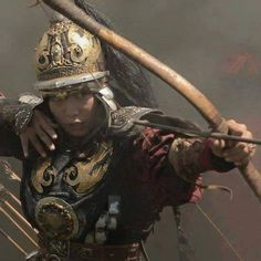 ArtStation - James Lewis-Vines - A Mongolian Archer study painted Character Concept, Character Art, Character Design, Fantasy Armor, Medieval Fantasy, Fantasy Characters, Female Characters, Woman Archer, Woman Warrior