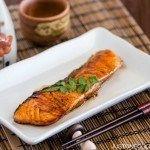 Teriyaki Salmon 鮭の照り焼き