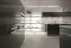 Zobacz, jak urządzić elegancką kuchnie w kolorystyce czerni i bieli.