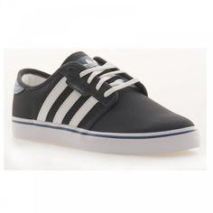 Adidas Originals Adidas Originals Men's Seeley Shoe (Carbon/White/Blue) - Adidas Originals from Loofes UK