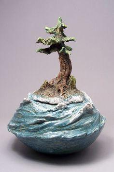 Denise Romecki Ceramic Sculpture: