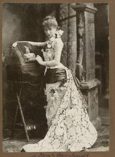 """Bernhardt (1844–1923) was a French stage and early film actress, and has been referred to as """"the most famous actress the world has ever known."""" Bernhardt made her fame on the stages of France in the 1870s, and was soon in demand in Europe and the Americas. She developed a reputation as a serious dramatic actress, earning the nickname """"The Divine Sarah."""""""
