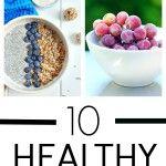 10 Healthy Vegan Snack Ideas