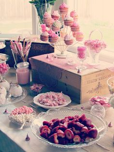 Rustic Living: the baby shower