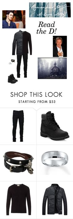 """""""Romeo and Juliet: A Love Story ~ Father Lawrence (RTD)"""" by c-a-marie2000 ❤ liked on Polyvore featuring Marcelo Burlon, Timberland, Alexander McQueen, American Vintage, men's fashion, menswear and romeoandjuliet"""