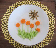 """Foodie"" fun for kids: Veggie Sunshine  from Sarah Choueiry. Plus Language time tips ""fun & functional"" ♥ PSN"