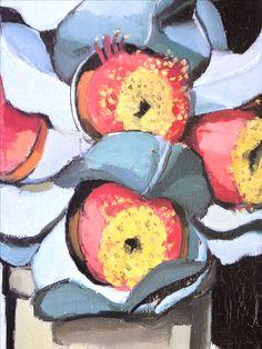 Detail from Margaret Preston, 'Eucalyptus Macrocarpa', AGWA Margaret Preston, Margaret Rose, Henri De Toulouse Lautrec, Australian Painters, Australian Artists, Flower Mural, Flower Art, Gustav Klimt, Preston Style