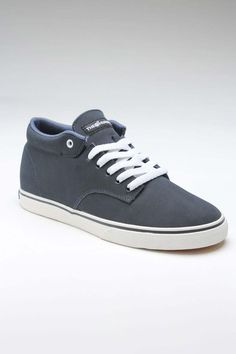 THE HUNDREDS JOHNSON MID SNEAKER NAVY