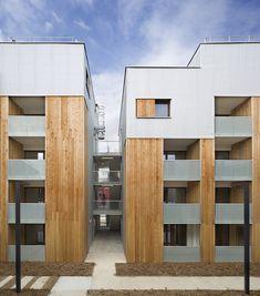 Gallery - 2 Social Housing Units in Nanterre / Colboc Franzen & Associés - 1