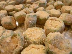 Oven-Fried Okra; I absolutely love okra and now I might actually get to have it once in a while!!