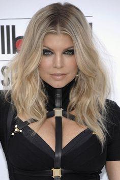 blonde hair women dark roots showing - Google Search