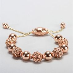 Love this gold bracelet! However, I don't look great in gold but it's still cute!