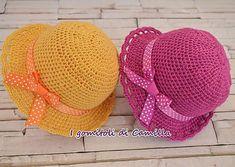 Cappellino da bimba semplicissimo a uncinetto: i tutorial di Camilla