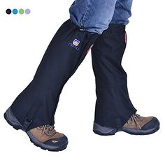Tsonmall Hiking Gaiters Waterproof Breathable Snow Gaiters Leg for Men Womens Walking Climbing Hunting -- Be sure to check out this awesome product. (This is an affiliate link) #Snowshoeing