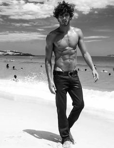 Marlon Teixeira on a beach. What else is there to say? NOTHING. #malemodels
